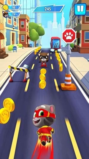 汤姆猫英雄跑酷真正破解版最新版